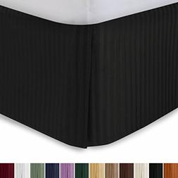 """Harmony Lane Tailored Bedskirt with 14"""" Drop, Olympic Queen,"""