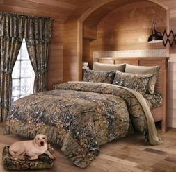 The Woods Regular CAMO FULL QUEEN SIZE CAMOFLAGE COMFORTER B