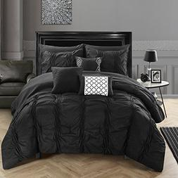 Chic Home Tori Bedding Set Queen Black