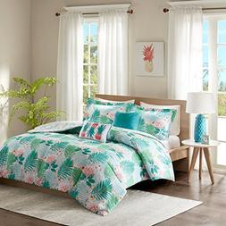 Intelligent Design Tropicana Comforter Set Full/Queen Size -