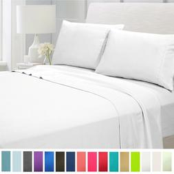 American Home Collection Ultra Soft 4 Piece Deep Pocket Bed
