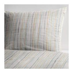 Ikea Varart Duvet Cover and Pillowcases, Queen, Beige