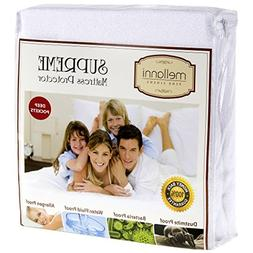 Queen Size Memory Foam Mattress Topper Bed COVER PROTECTOR P